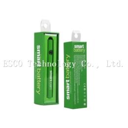 Smart Cart Battery Vape Pen 380mah smart battery Variable Voltage Preheating Smartcart Batteries