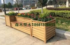 铜川榆林延安铝合金花箱塑木花箱pvc花箱