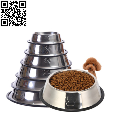 不銹鋼寵物盆(Stainless steel pet Basin)ZD-ZYP16