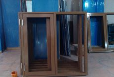 廣東廠家供應鋼質防火窗逃生窗承接安裝工程