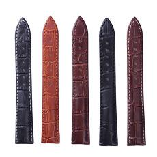 上班族男款女款通用白領氣質竹節紋真皮表帶 三和興表帶
