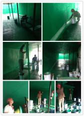 污水池玻璃鳞片防腐的施工流程