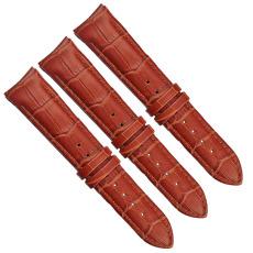个性定制全款表壳通用竹节纹真皮表带
