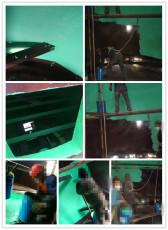 脫硫塔防腐玻璃鱗片的施工簡單