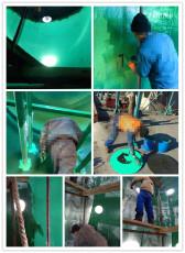 脫硫塔玻璃鱗片防腐膠泥構造