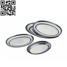 精拋橢圓盤(Stainless steel Plate)ZD-YP12