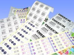易碎贴标签印刷