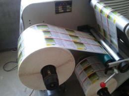 卷筒不干胶印刷
