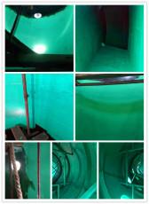 玻璃鳞片防腐胶泥施工防水