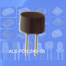 5mm圆柱形ALS-PDIC243-3B光敏管