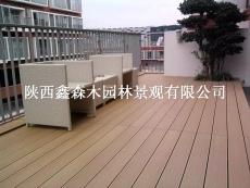 青海公園景區環外塑木地板棧道平臺廠家