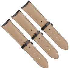厂家直销竹节纹尖尾表带国内头层皮真皮表带