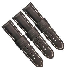 深圳廠家直銷黑色針紋真皮表帶 三和興表帶