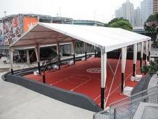 户外篮球馆篷房厂家 网球馆大篷 亚太篷房常