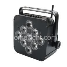 9颗x12W 4合1电池帕灯帕灯带WIFI+摇控+无线+电池