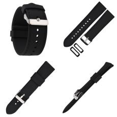 773# 仿車線槽平頭硅膠表帶超薄款手表帶 三和興表帶