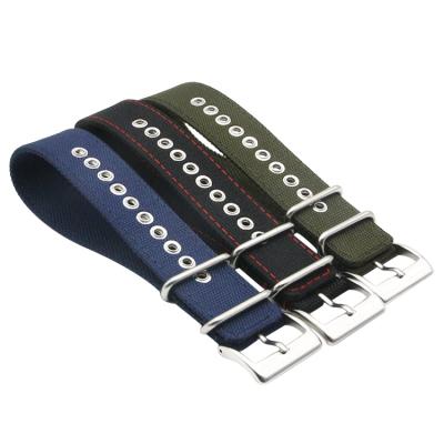 新款:帆布表带一条过新设计 三和兴表带