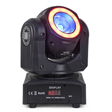 60W Mini LED Moving Head Beam with Ring