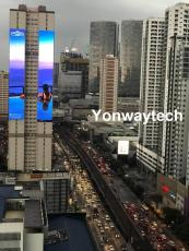 Outdoor fixed advertising and billboard LED display