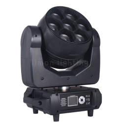 7x40W Wash Zoom LED Moving Head