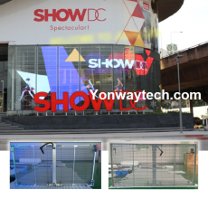 Indoor & Outdoor Full Color Transparent Led