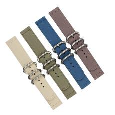 长短带 方尾多颜色帆布表带 三和兴表带 尼龙表带7