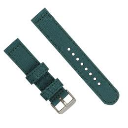 长短带 圆尾多颜色帆布表带 三和兴表带 尼龙表带8