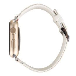 车皮革涤纶表带  搭配成表一起看效果更直观  间色长短带款  三和兴表带2