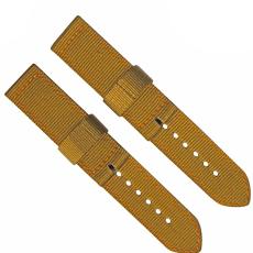 車皮革尼龍表帶  單色長短帶款  現有材料顏色任選  支持定制顏色  三和興表帶2