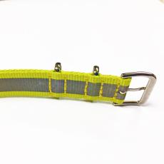 一条过尼龙表带  颜色纹路定制款间色  三和兴表带NL121
