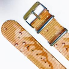 迷彩尼龙表带  长短带耳位特别款  三和兴表带NL122