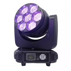7*40W RGBW Wash Zoom Moving Head