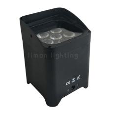 6x18W RGBWA+UV 6-in-1 Battery Par Can