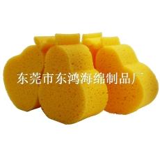 東鴻爆款兒童沐浴清潔水果形狀海綿制品廠家直銷