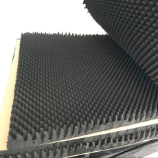 東鴻批發定制波浪阻燃耐高溫隔音海綿免費打樣參考