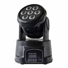 7x10w LED Mini Moving Head Wash Light