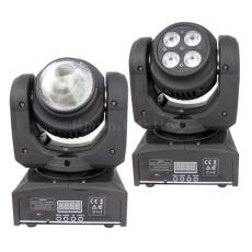 Bi-sides Endless Rotation LED Mini Moving Head Light