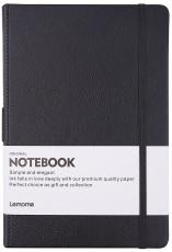 A5 thick book black horizontal line