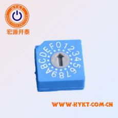 批发台湾进口 旋转编码开关RS30014 0-9共10