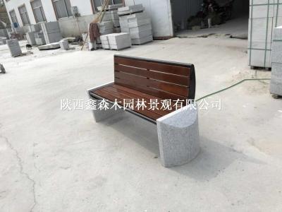 【供】塑木园林椅/户外公园椅/广场休闲椅/户外长条椅/平凳