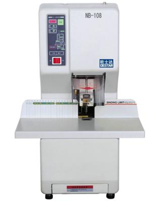 歐士達NB-108全自動財務憑證膠管裝訂機