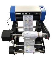 卷材标签模切机,数码标签裁切机