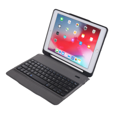 TPU case with pencil holder and bluetooth keyboard for ipad pro 9.7