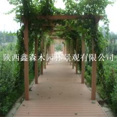 青海塑木地板/西宁塑木地板厂家/青海西宁公园景区塑木地板生产厂家