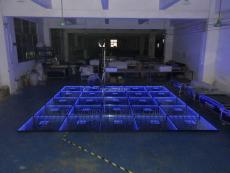 Disco Party Mirror Abyss Effect DMX 3D LED Dance Floorfor Stage Party Wedding Events Show