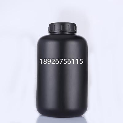 高密度聚乙烯 HDPE试剂瓶 5000ML广口瓶子样品瓶5L胶水瓶黑色遮光溶剂瓶