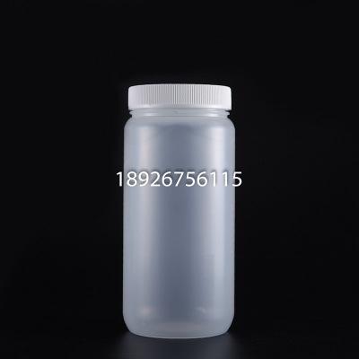 PP聚丙烯半透明广口防漏试剂瓶2000ML耐高温高压样品瓶2L