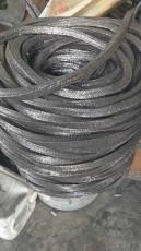 石墨四氟乙烯盤根-耐磨黑四氟盤根