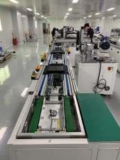 新能源 充電寶焊接組裝倍速鏈輸送線