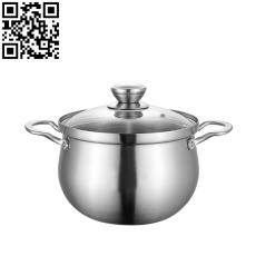 304三層鋼湯鍋(Stainless steel pot)ZD-TG430